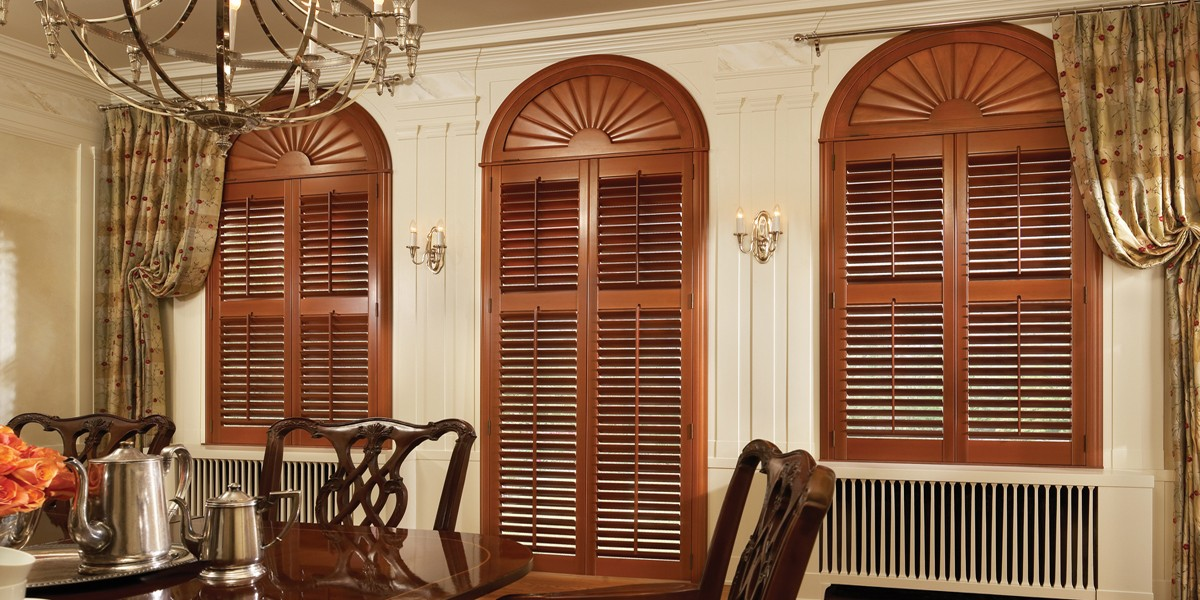 Round Top Shutters