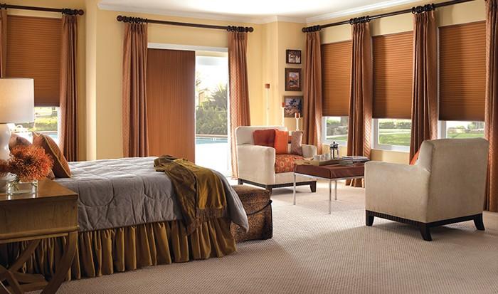 bedroom-brown-cellularshades