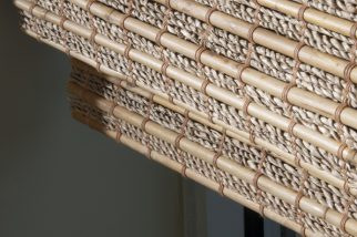 natural woven shade